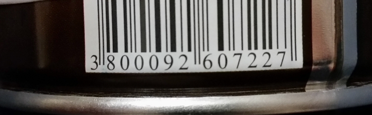 Barcode that fails to scan