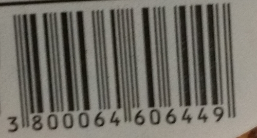 Barcode that scans fine